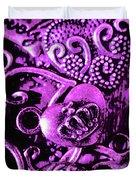 Purple Heart Collection Duvet Cover