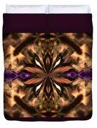 Purple Heart Design Duvet Cover