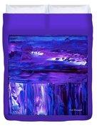 Purple Hue Duvet Cover