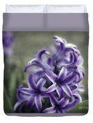 Purple Hyacinth  Duvet Cover