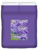 Purple Impression  Duvet Cover