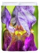 Purple Iris 2018 Duvet Cover