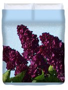 Purple Lilac 3 Duvet Cover