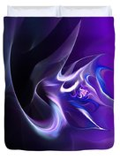 Purple Love Duvet Cover