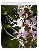 Purple Lycoris Duvet Cover