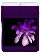 Purple Magnolia 2 Duvet Cover