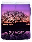 Purple Majesty Duvet Cover
