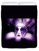 Purple Mask Flash Duvet Cover