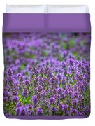 Purple Meadow 3 Duvet Cover