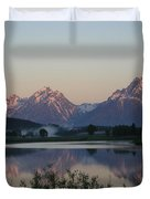 Purple Mountain Majesty  Duvet Cover