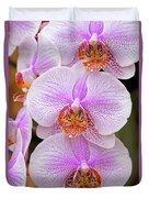 Purple Orchid 1 Duvet Cover