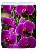 Purple Orchid Duvet Cover