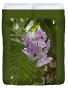 Purple Orchids 2 Duvet Cover