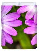 Purple Petals Duvet Cover