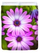 Purple Pals Duvet Cover
