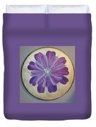 Purple Paradise Duvet Cover