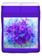 Purple Passion Hydrangea  Duvet Cover