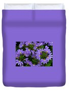 Purple Perspective Duvet Cover