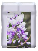 Purple Petals Duvet Cover