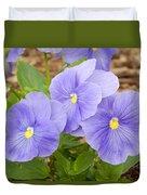 Purple Petunia  Duvet Cover
