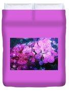 Purple Pink Painterliness Duvet Cover