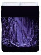 Purple Planet Duvet Cover