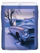 Purple Pontiac Duvet Cover