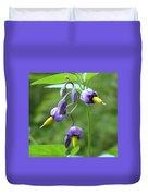 Purple Power Duvet Cover