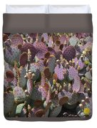 Purple Prickly Pear 2 Duvet Cover