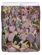 Purple Prickly Pear 3 Duvet Cover