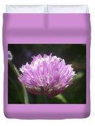 Purple Puff Duvet Cover