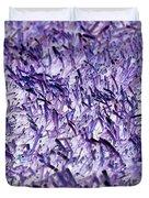 Purple, Purple, And More Purple Duvet Cover