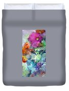 Purple Queen Duvet Cover