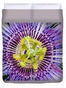 Purple Radial Duvet Cover
