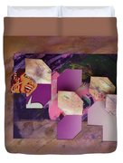 Purple Rain Duvet Cover