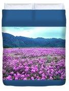 Purple Rain Duvet Cover