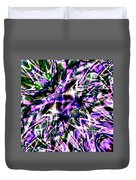 Purple Sea Monster Duvet Cover