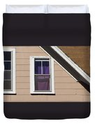 Purple Shade Composition Duvet Cover