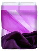 Purple Silk Duvet Cover