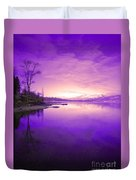 Purple Skies Duvet Cover