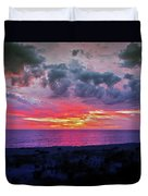 Purple Sky Duvet Cover