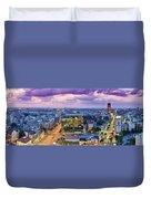 Purple Sky Duvet Cover