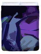 Purple Smash Duvet Cover