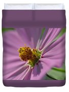 Purple Soft Petals Duvet Cover