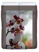 Purple Splash Orchid 1 Duvet Cover