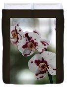 Purple Splash Orchid 2 Duvet Cover