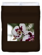 Purple Splash Orchid 3 Duvet Cover