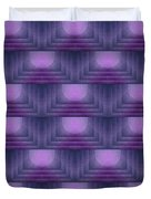 Purple Sun Deco Duvet Cover
