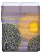 Purple Sunset Duvet Cover