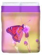 Purple Touch Duvet Cover